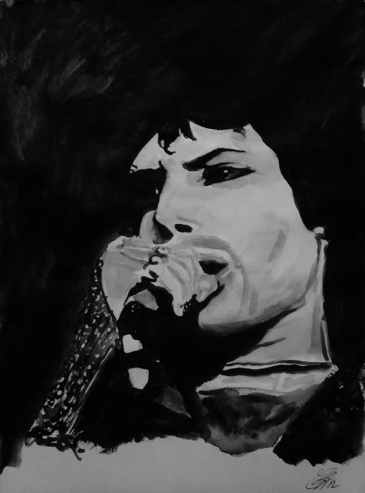 Freddie Mercury by missfayagirl71